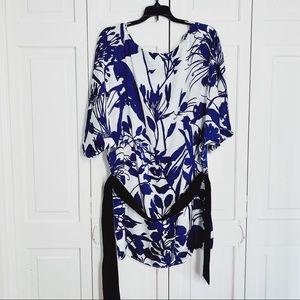 Zara Basic Belted Tunic Medium